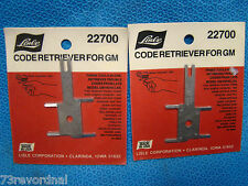 Code Retriever for GM 2 Each ABS Key Jumper Terminal ALDL Free Ship USA PAIR