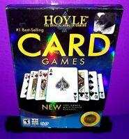 Hoyle Card Games 2009 (Windows/Mac PC DVD ROM, 2008) Brand New B577