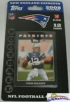 2008 Topps New England Patriots Factory Sealed Team Set-Tom Brady,Randy Moss++