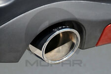 82212693 WK Grand Cherokee Exhaust Tip (Chrome) (Suits V6 with Jeep Logo)
