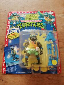 TMNT Teenage Mutant Ninja Turtles Sewer Spittin LEO Action Figure MOC Unpunched