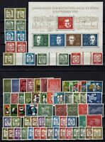 C137562/ WEST GERMANY – YEARS 1959 - 1961 MINT MNH / MH MODERN LOT – CV 135 $