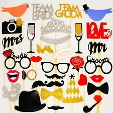 Photo Booth Props Mr. & Mrs. Just Married Theme For Wedding Party - SUP10003