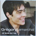 "GREGORY LEMARCHAL - CD SINGLE PROMO ""JE SUIS EN VIE"""