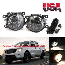 Fog Light w/Bulb Wires For Nissan Frontier Titan Armada Navara Pathfinder 05-19
