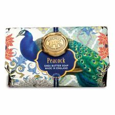Michel Design Works Large 8.7 oz Artisanal Bar Bath Soap Peacock Cedar Patchouli