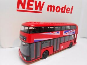 TOY BUS NEW SHAPE LONDON BUS RED TOY BOY GIRL DAD CHRISTMAS GIFT PRESENT BOXED
