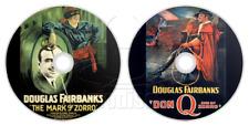 The Mark of Zorro (1920) + Don Q Son of Zorro (1925) 2 x Movies / Films on DVD