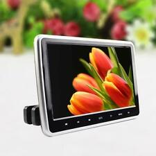 10.1 Inch HD TFT LCD Screen Car Headrest Monitor HDMI DVD/USB/SD Player DC 12V