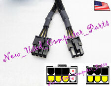 "➨➨➨ 12"" CoolMax 8-pin to 6-pin PCI-E Modified Power Supply Cable ➨➨➨"