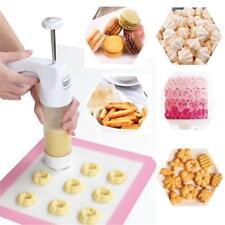 Biscuits Extruder Presser Machine Cookie Press Gun Kit Biscuits Cake Pastry KV