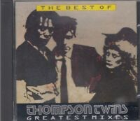 Thompson Twins The Best Of Greatest Mixes CD FASTPOST