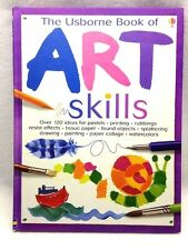 Usborne Book of Art Skills by Fiona Watt Hardcover Elementary Art Like New