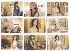 Korea K-POP KPOP Girls' Generation TAEYEON Tiffany HYOYEON Yoona YURI 9 card 63