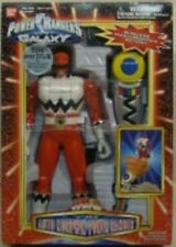 """Power Rangers Lost Galaxy 10"""" Automorphing Red Ranger w/Morpher Remote Control"""