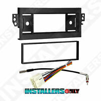 CHEVROLET CAR STEREO SINGLE DIN RADIO MOUNT INSTALL DASH KIT W/ WIRES 99-3300