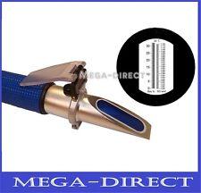 #1015I RSG - 100ATC Brix & Birra Zucchero Vino Wort SG 0-32 % ATC Rifrattometro