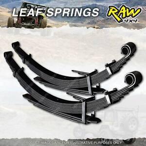 Pair Rear RAW 4x4 2 Inch Leaf Springs for Nissan Patrol GQ GU Ute & Cab Chassis
