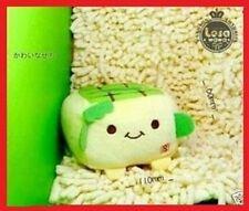 JAPANESE HANNARI TOFU PLUSH MOBILE PHONE STAND *Green* 1pc