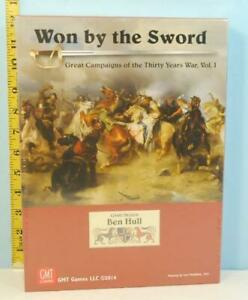 Won by the Sword Great Campaigns of the Thirty Years War Vol. 1 GMT 2014 SHRINK