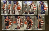 2019-20 Panini Mosaic USA Lot (10) - Magic Johnson, Kevin Durant, Larry Bird