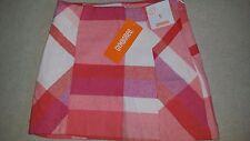 Gymboree WOODLAND WONDER Girls Pink Plaid Mini Skirt Size 5 NEW Cotton Polyester