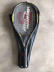 Wilson Hyper Hammer 5 Hybrid OS 113 Tennis Racquet 4 5/8 Good