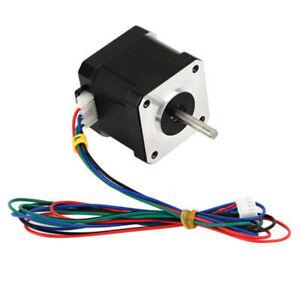 new CNC 1.8Degree NEMA17 1.7A 40mm 2Phase 4Lead Stepper Motor For 3D Printer