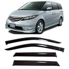 For Honda Elysion 5d 2004-2013 Window Visors Sun Rain Guard Vent Deflectors