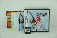 Nintendo DS Tales of the Tempest Free Shipping with Tracking# New from Japan