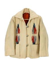Vintage Chimayo Southwestern Indian Tribal Print Women's Jacket