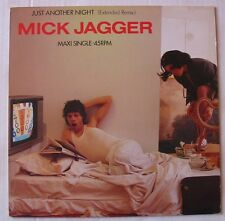 "MICK JAGGER (Maxi 45T 12"")  JUST ANOTHER NIGHT (EXTENDED REMIX)"