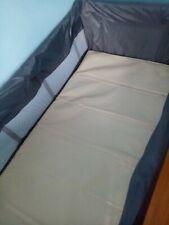 Einhang für Reisebett 120 x 60 cm Graphit Grau Fillikid