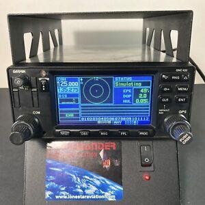 Garmin GNC 420 GPS/COM 14/28 VDC PN: 011-00506-10