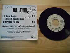 """7"""" Pop Dr. John / Ricky Lee Jones - Makin' Whoopee! (Promo Disc) WARNER BROS"""