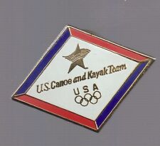 Olympic Memorabilia Sports Memorabilia Helpful Olympic Pins 1996 Atlanta Georgia Usa Usa Canoe Kayak Team Usa Noc Country