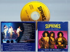 THE SUPREMES - The Sounds of SUPREMES, Live in Germany 1994 CD RARE USA Import