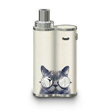 Skin Decal for eLeaf iJustX Vape Mod / Cool Cat Kat Shades Glasses Tumblr