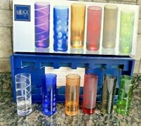 Mikasa Cheers Mix Shot Glasses Set Of 6. With Box