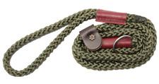 Bisley STANDARD DUTY Rope Dog Gundog Slip Lead QUALITY ROPE AND LEATHER (BIDLLS)