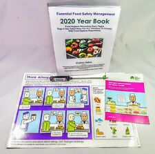 Kitchen Safety Kit.2020 Yearbook Paperback,Thermometer,Allergy Leaflet,Signs