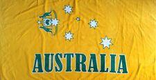 "Australia Beach Towel for Adult & kid "" Aussie Gold "" Beach Towel 100% Cotton"
