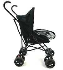 "Pet Gear Travel Lite Plus Stroller in Black 38"" Tall for Cats / Small Dogs"