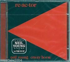Neil Young & Crazy Horse. Re-ac-tor (1981) CD NUOVO Reactor. Southern Pacific