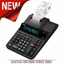 Casio 12 Digit Display Heavy Duty Printing Calculator With Time-Date Stamp|Black