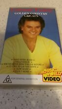 CONWAY TWITTY - GOLDEN COUNTRY GREATS -   VHS VIDEO