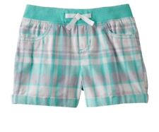 Jumping Beans Toddler Girl 2T Ribbed Waist Plaid Shorts NWT