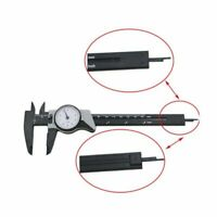 Portable Plastic Dial Vernier Caliper Gauge Measuring Tool Shock-Proof 0-150mm