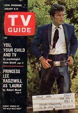 1968 TV Guide January 6 - Wild Wild West; Heywood Hale Broun; John Glenn
