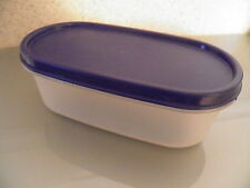 Tupperware – Eidgenosse oval 0,5 l mit blauem Deckel, NEU
